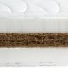 Matelas 100x190 fibre de coco naturelle 15cm