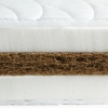 Matelas 120x200 fibre de coco naturelle 15cm