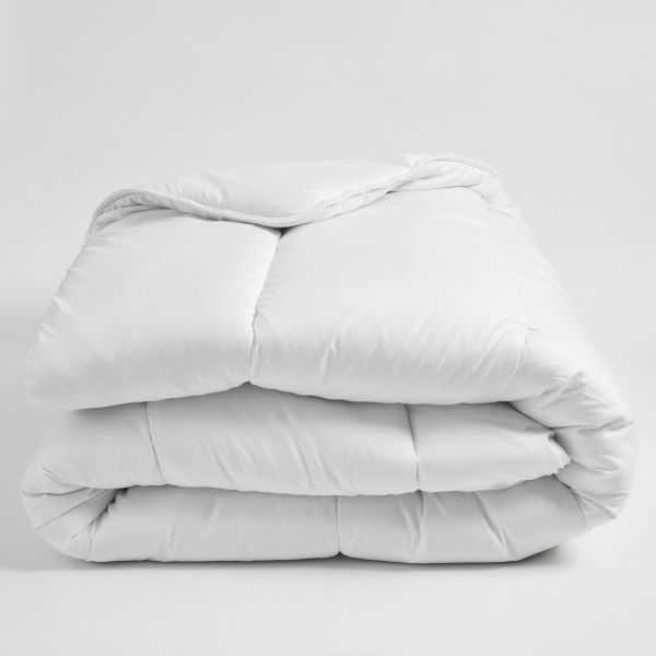 Couette moelleuse hiver 450g microfibres